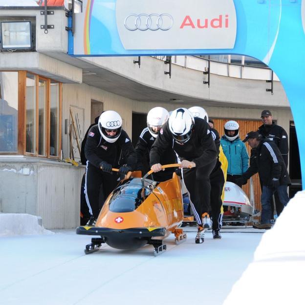 Cool Running mit Marcel Rohner in St. Moritz