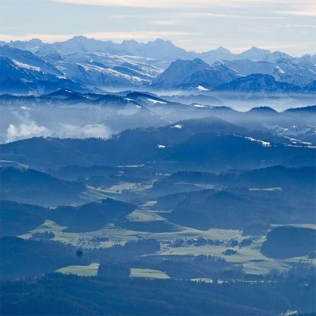 Sonnenaufgangs-Ballonfahrt  in der Ostschweiz