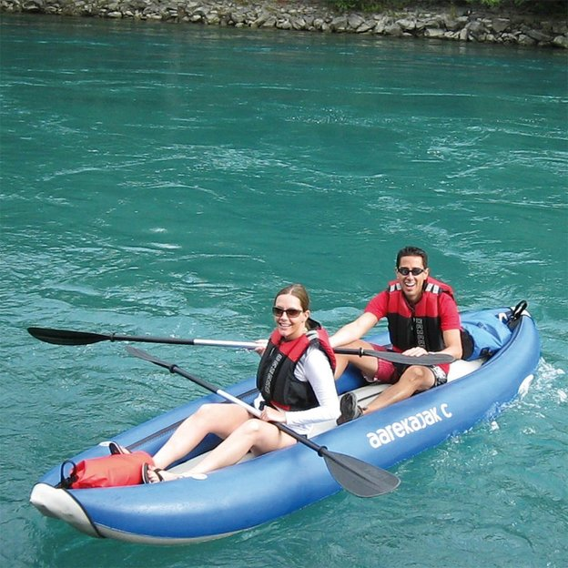 Kayak sur l'Aar de Uttigen à Berne