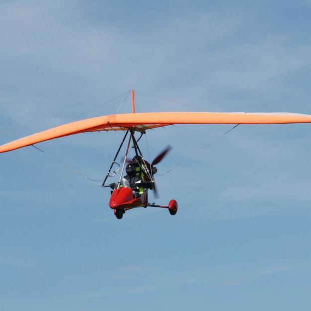Ultraleichtflug im französischen Jura