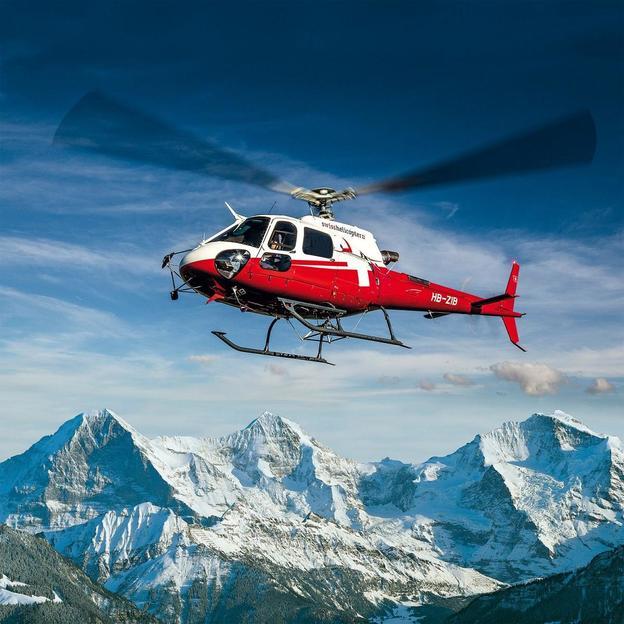 Vol en hélicoptère : La mythique face nord de l'Eiger