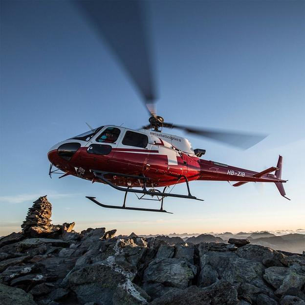 Vol en hélicoptère: Eiger, Mönch, Jungfrau Sud