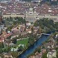 Vol en Hélico au-dessus de la vieille ville de Berne