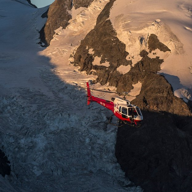 Helikopter Rundflug: Gletscherlandschaft Titlis