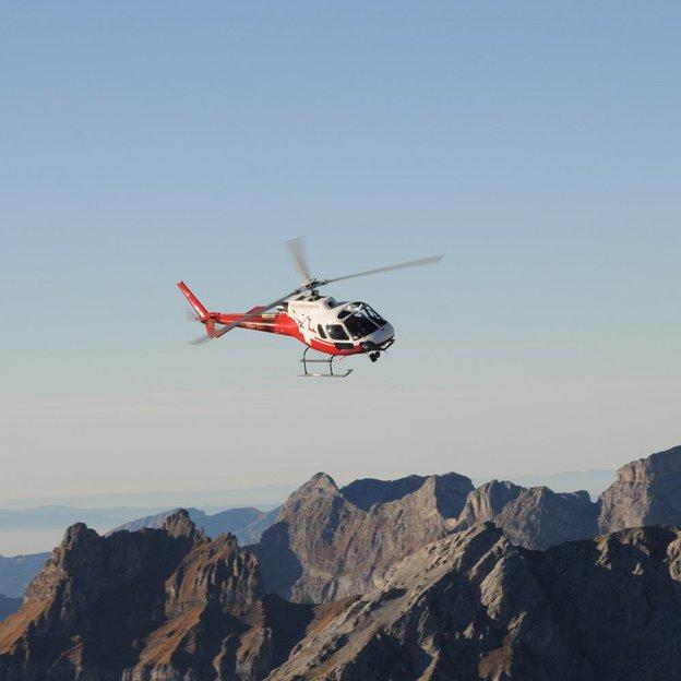 Tour en hélicoptère : glacier Titlis