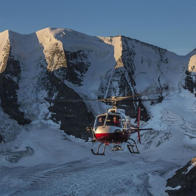 Helikopter Rundflug: Bernina Bergmassiv ca. 20 Minuten