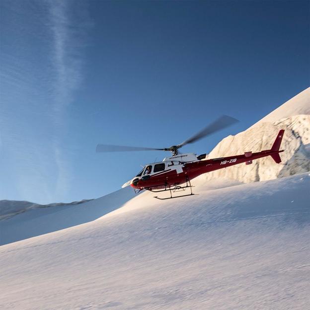Helikopter Rundflug: Bernina und Bergell ca. 30 Minuten