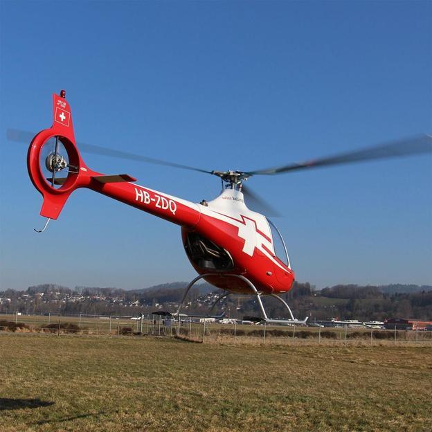 Helikopter Schnupperflug 40 Minuten