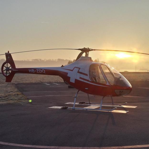 Initiation au vol d'hélicoptère à Berne ou à la Gruyères, 40 min.
