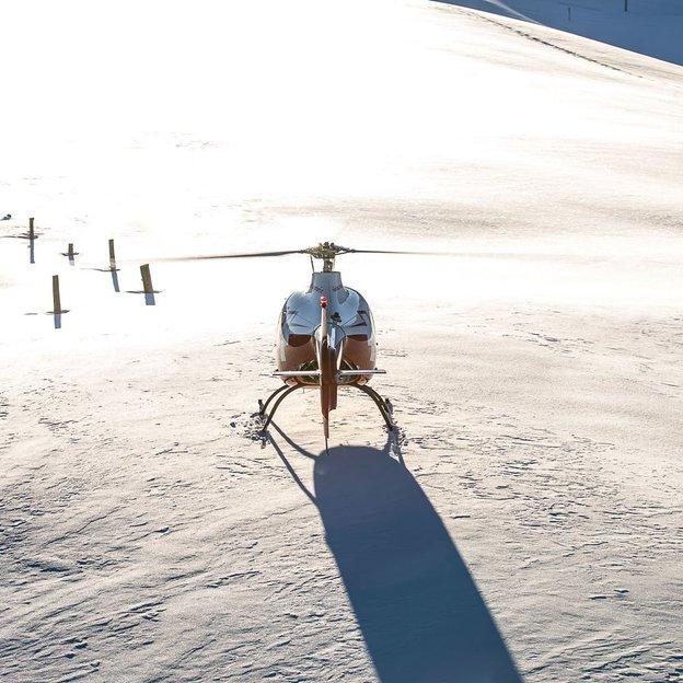 Helikopter Schnupperflug (Schweizer 300C) ab Gruyéres