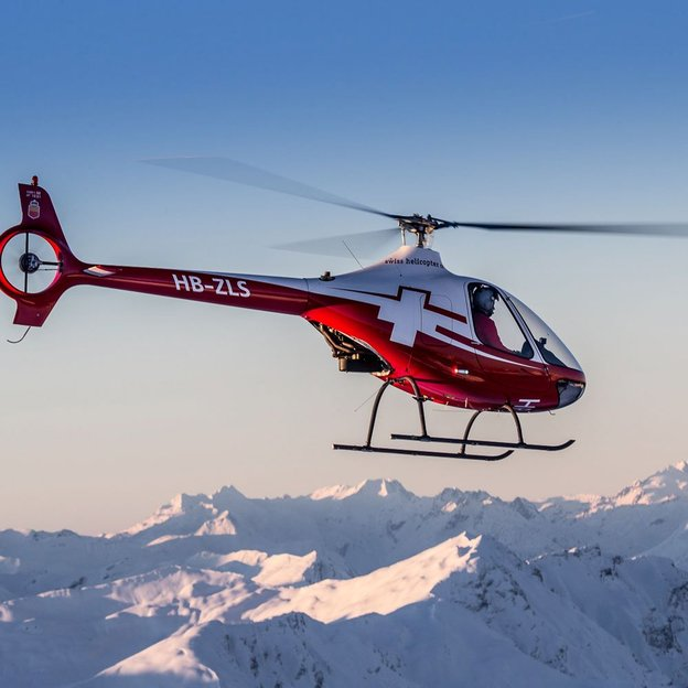 Initiation au vol d'hélicoptère (Schweizer 300C) Gruyères 40 Minutes
