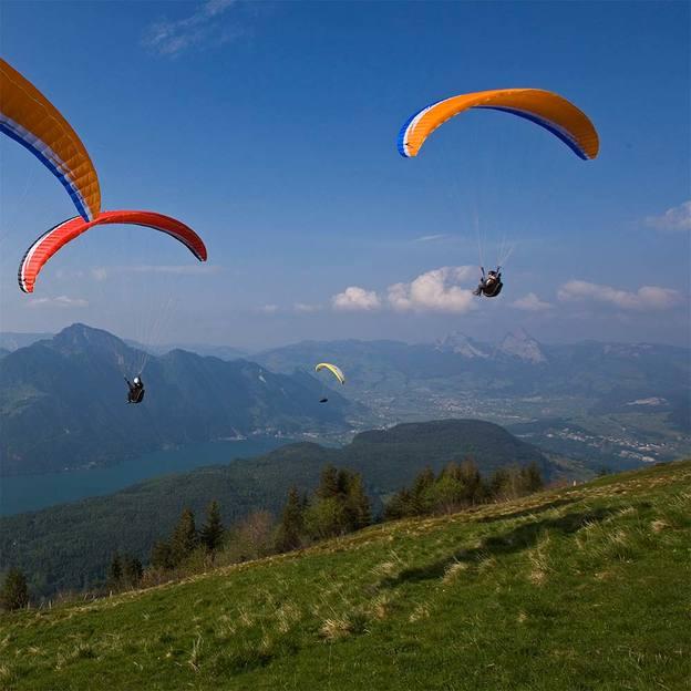 Gleitschirm Panoramaflug in Emmetten