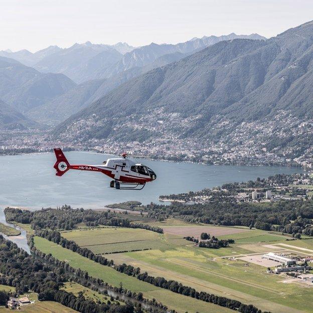 Helikopter Rundflug: Tessiner Täler