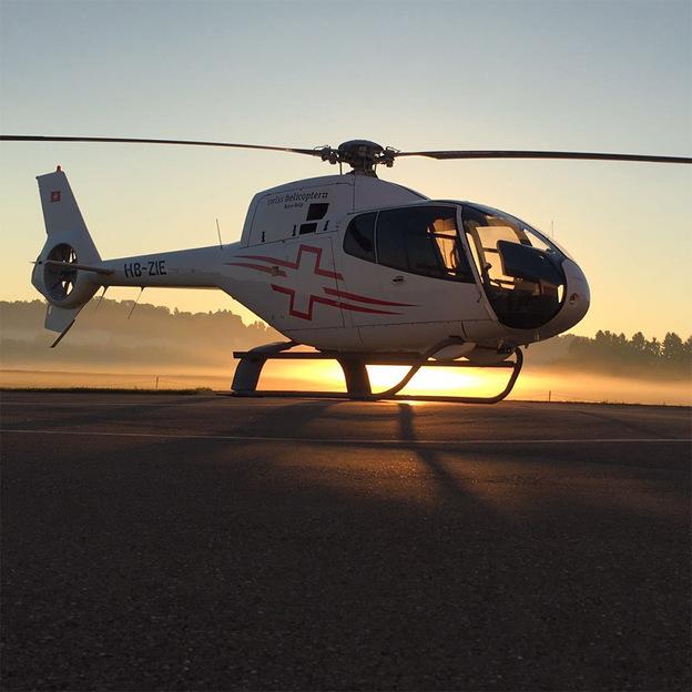 Helikopter Rundflug: Schlösser und Seen