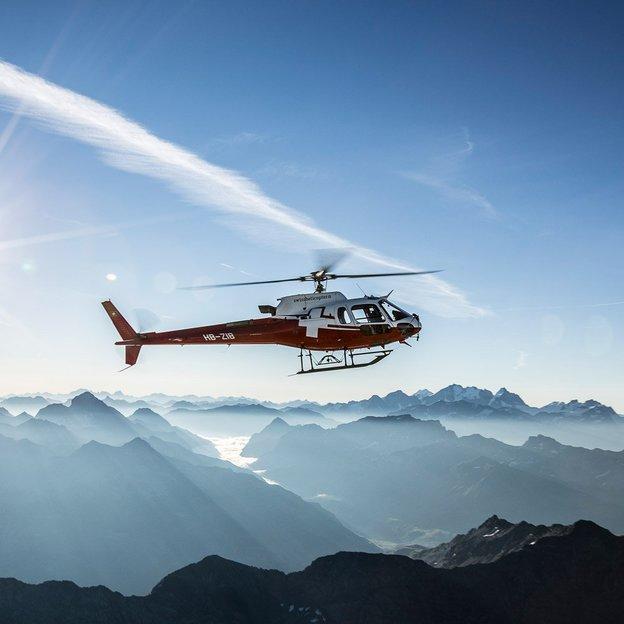 Helikopter Rundflug: Alpstein - Säntis - Churfirsten