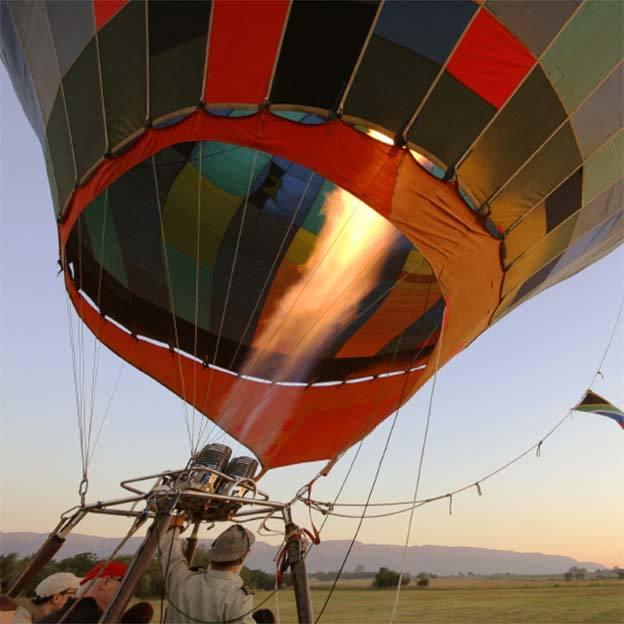 Vol en montgolfière exclusif pour 2 personnes