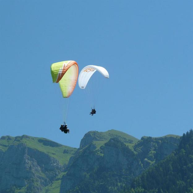 Vol parapente biplace en Suisse Centrale (30 min)