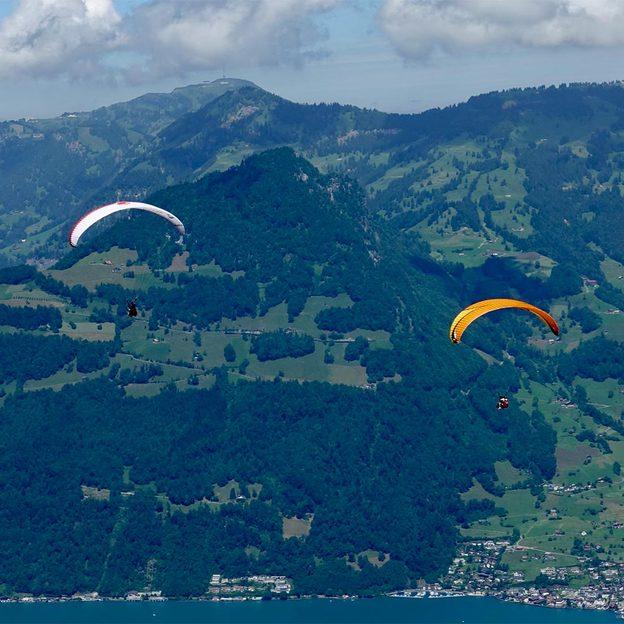 Gleitschirm Passagierflug in der Zentralschweiz (30 Minuten)