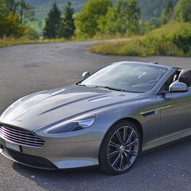 Aston Martin V12 fahren für einen Tag