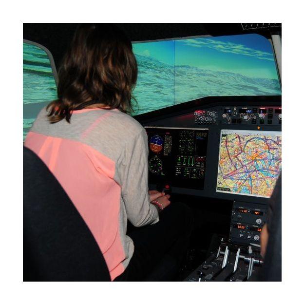 Flug Zürich - Innsbruck im Flugsimulator