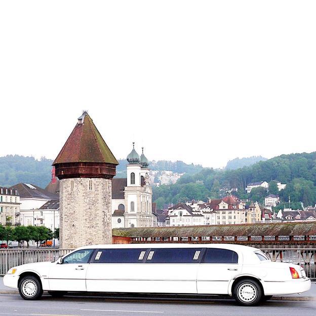 Stretchlimousine fahren in der Zentralschweiz 5 Stunden