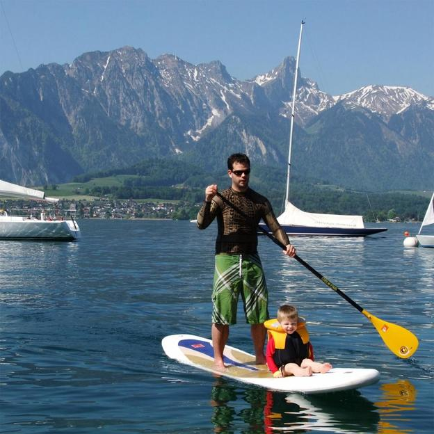 Stand Up Paddle sur l'Aar