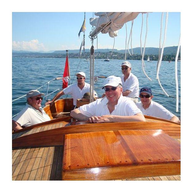 Sortie en voilier oldtimer sur le Lac de Zurich