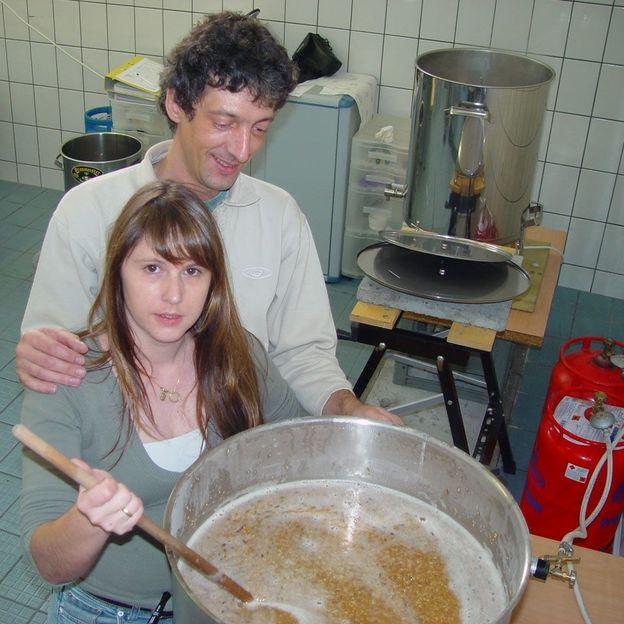 Tages Bierbraukurs in St. Gallen