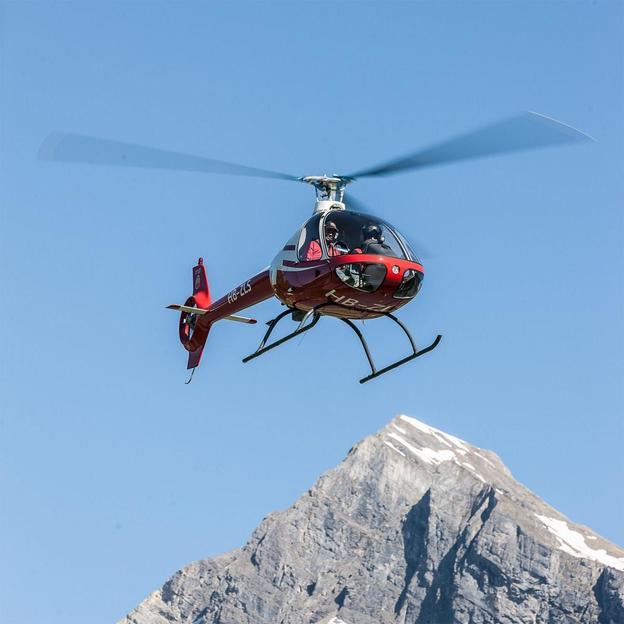 Helikopter Schnupperflug mit Guimbal Cabri G2 ab Balzers (für 1 Person)
