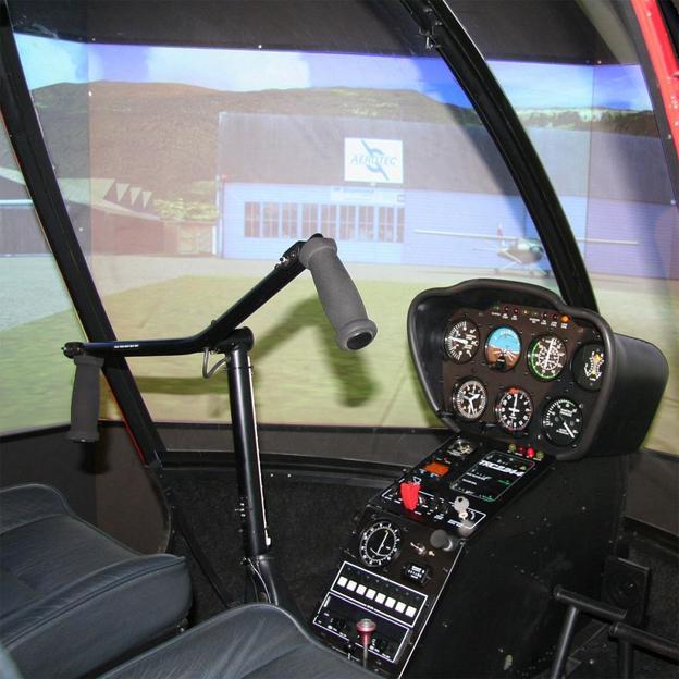 simulation de vol en h licopt re robinson r22beta. Black Bedroom Furniture Sets. Home Design Ideas
