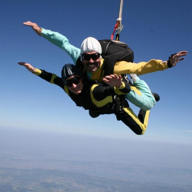 Saut en parachute en tandem (Argovie)