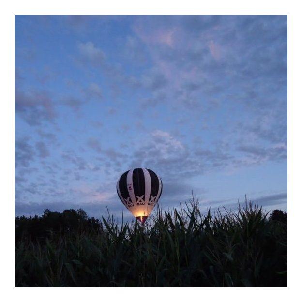 Sonnenuntergangs-Ballonfahrt in der Ostschweiz