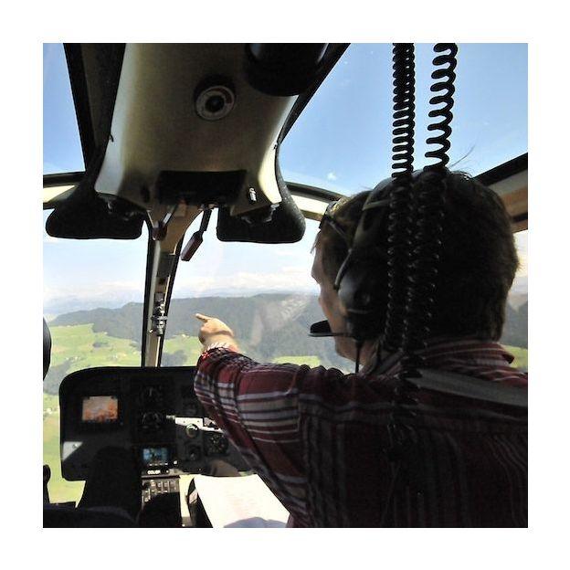 Vol d'initiation en hélicoptère (60min)