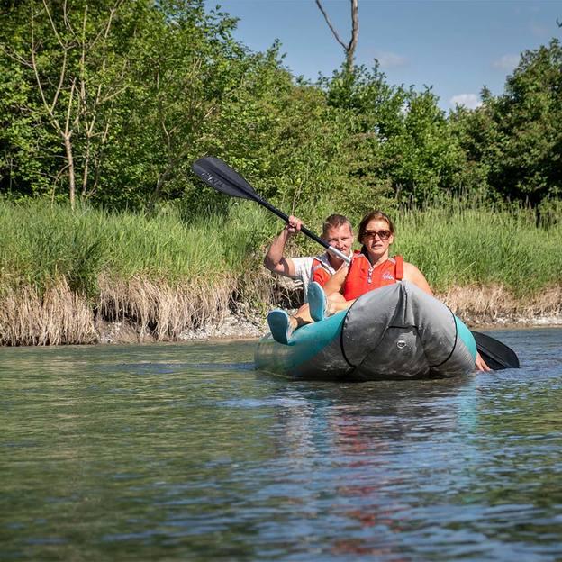 Kajaktour auf dem Thunersee mit Pizzaessen (für 6 Personen)