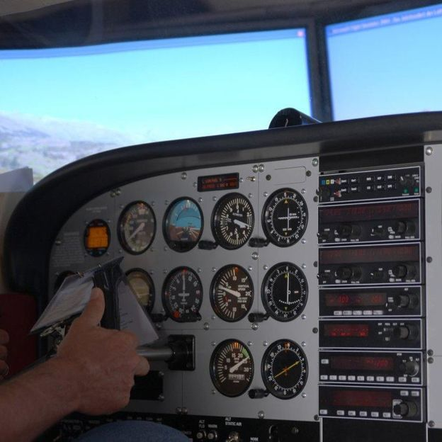 Simulation de vol en Cessna 172