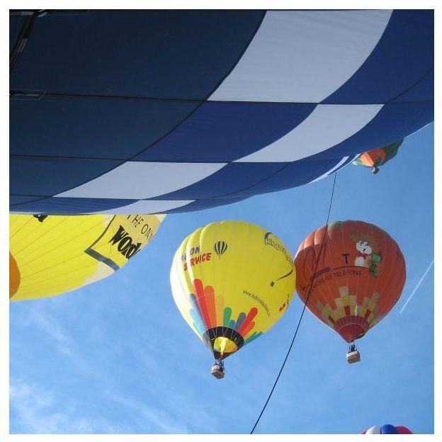 Heissluftballonfahrt mit Ausblick