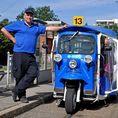 eTukTuk City Tour - Ein Fahrvergnügen der Superlative - für 4 Personen
