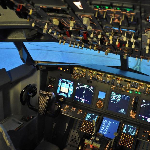 Simulation de vol Airbus A320 - Cockpit (60 min.)