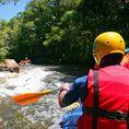 Rafting sur le Rhin antérieur