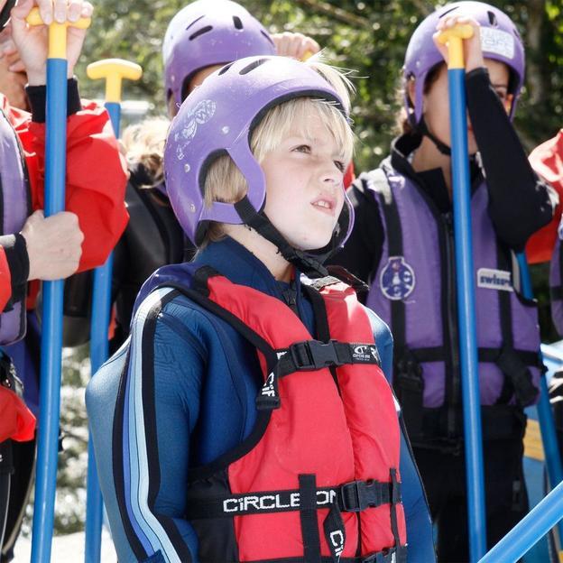 Rafting avec toute la famille