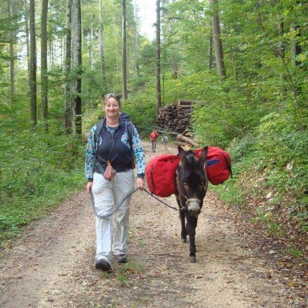 Trekking avec ânes et chèvres