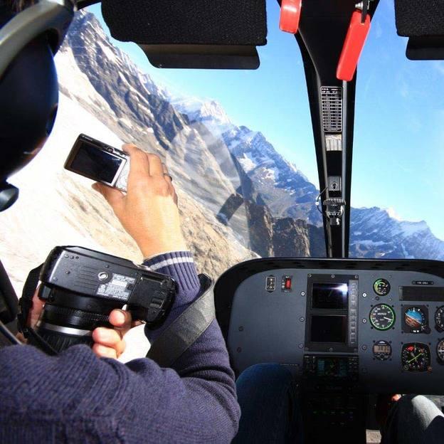 Gletscherflug 30 Minuten