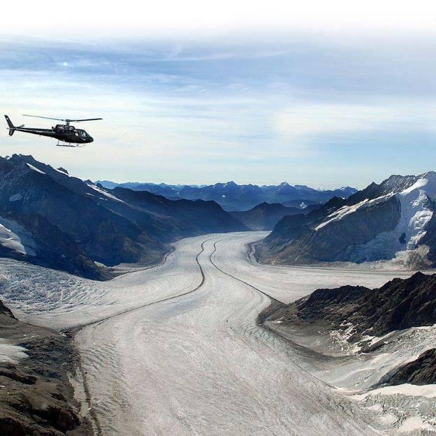 Gletscherflug 60 Minuten