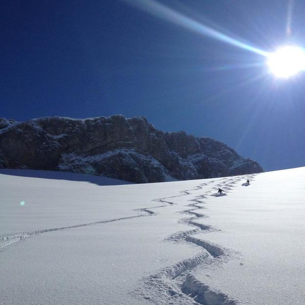 Heli Ski ab Gsteigwiler oder Lauterbrunnen für 1 Person