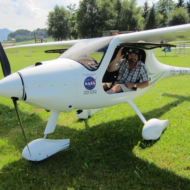 Initiation au vol moteur à Granges