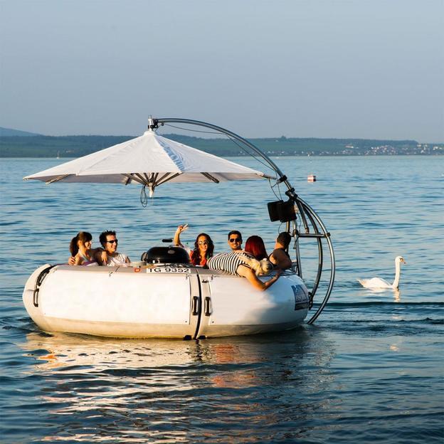Grillplausch auf dem Bodensee 4 Stunden (10 Personen)