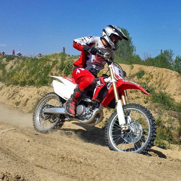 Motocross fahren mit dem Europameister (unter der Woche)