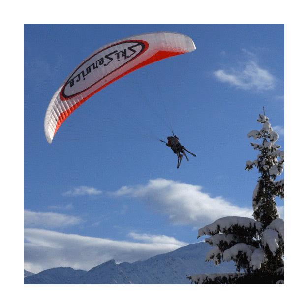 Vol en Parapente Biplace à Verbier