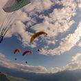 Gleitschirm Passagierflug in Villeneuve bei Montreux