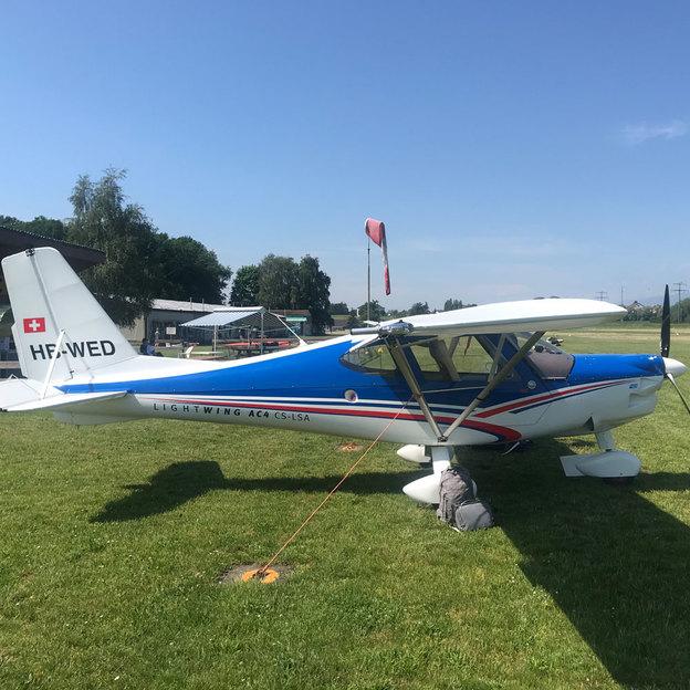 Alpenrundflug mit dem Motorflugzeug